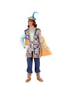 Disfraz de Paje Real Gaspar para adulto