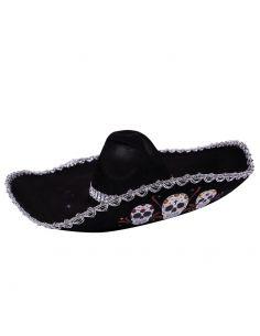 Sombrero Mejicano Catrin Tienda de disfraces online - venta disfraces