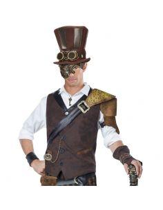 Chistera Steampunk con Gafas Tienda de disfraces online - venta disfraces