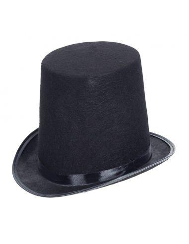 Chistera Negra de Fieltro Extra Tienda de disfraces online - venta disfraces
