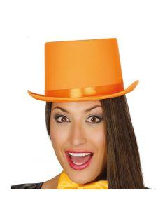 Chistera Naranja alta calidad Tienda de disfraces online - venta disfraces
