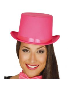 Chistera Rosa alta calidad Tienda de disfraces online - venta disfraces