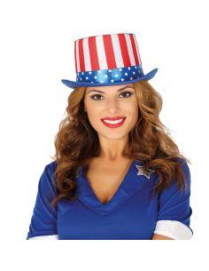 Chistera Bandera Americana Tienda de disfraces online - venta disfraces