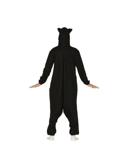 Disfraz Gato Negro Pijama adulto Tienda de disfraces online - venta disfraces