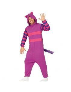 Disfraz Gato Lila Pijama adulto Tienda de disfraces online - venta disfraces