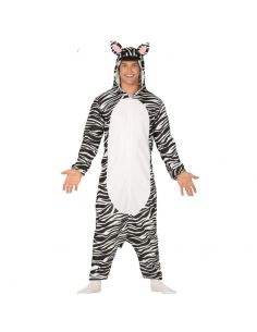 Disfraz Pijama Cebra Adulto Tienda de disfraces online - venta disfraces