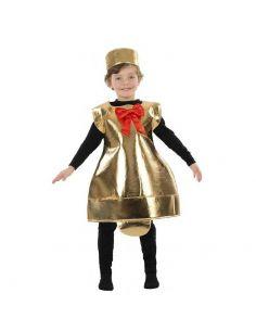 Disfraz Campana de Navidad infantil