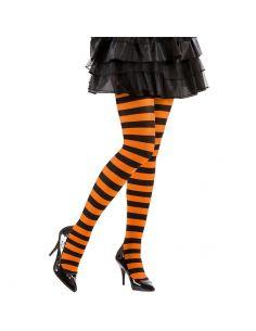 Medias a Rayas Negro/Naranja adulto Tienda de disfraces online - venta disfraces