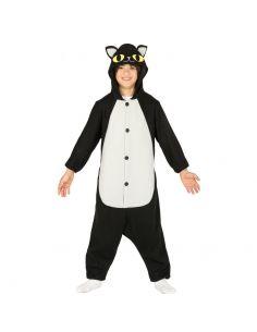 Disfraz Gato Negro Pijama infantil Tienda de disfraces online - venta disfraces