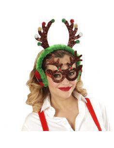 Gafas Reno Purpurina Tienda de disfraces online - venta disfraces