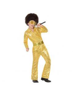 Disfraz Disco Dorado niño Tienda de disfraces online - venta disfraces