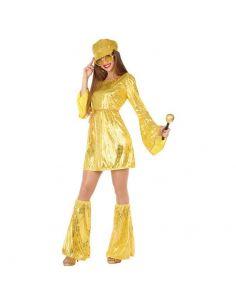 Disfraz Disco Dorado mujer Tienda de disfraces online - venta disfraces
