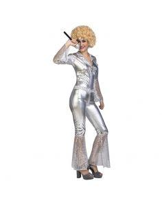 Disfraz Mono Disco Plata adulto Tienda de disfraces online - venta disfraces