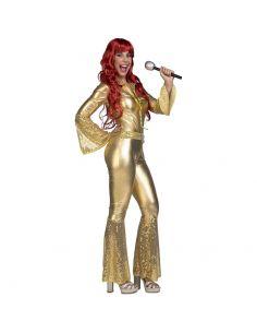 Disfraz Mono Disco Oro adulto Tienda de disfraces online - venta disfraces