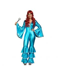 Disfraz Chica Disco Azul Tienda de disfraces online - venta disfraces