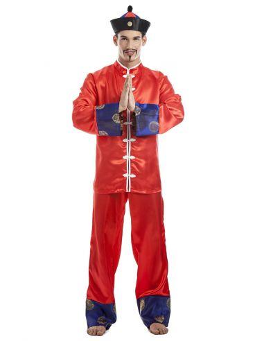 Disfraz de Chino en rojo Tienda de disfraces online - venta disfraces