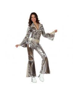 Disfraz de Disco plateado para Mujer Tienda de disfraces online - venta disfraces