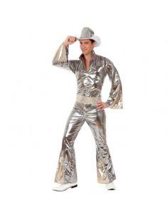 Disfraz de Disco plateado para Hombre Tienda de disfraces online - venta disfraces