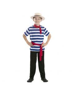 Disfraz de Gondolero para infantil Tienda de disfraces online - venta disfraces