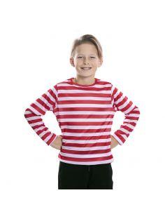 Camiseta rayas rojas infantil Tienda de disfraces online - venta disfraces