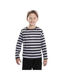 Camiseta rayas negras infantil Tienda de disfraces online - venta disfraces