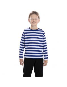 Camiseta rayas azules infantil Tienda de disfraces online - venta disfraces