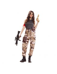 Disfraz de Soldado de Combate para mujer Tienda de disfraces online - venta disfraces