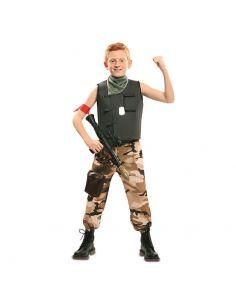 Disfraz de Soldado de Combate infantil Tienda de disfraces online - venta disfraces