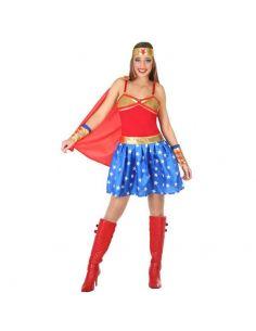 Disfraz Héroe Comic de mujer Tienda de disfraces online - venta disfraces