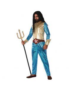 Disfraz de Héroe Comic Metalizado para hombre Tienda de disfraces online - venta disfraces