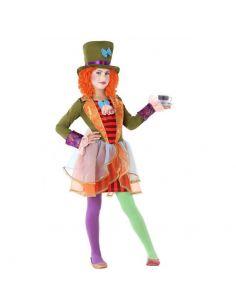 Disfraz de Sombrera Loca para niña Tienda de disfraces online - venta disfraces