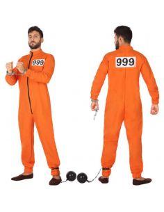 Disfraz de Preso Naranja para hombre Tienda de disfraces online - venta disfraces