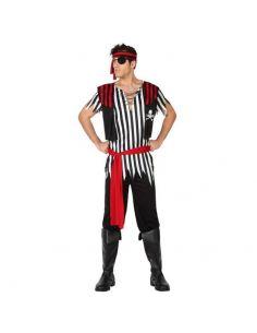 Disfraz de Pirata hombre rayas Tienda de disfraces online - venta disfraces