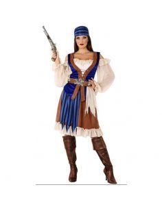Disfraz de Pirata Marrón para mujer Tienda de disfraces online - venta disfraces