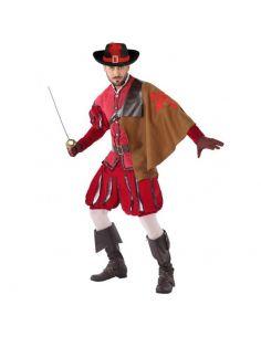 Disfraz de Mosquetero Rojo para hombre Tienda de disfraces online - venta disfraces