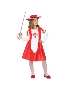 Disfraz de Mosquetera para niña Tienda de disfraces online - venta disfraces