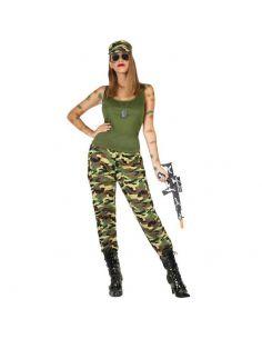 Disfraz Militar para mujer Tienda de disfraces online - venta disfraces
