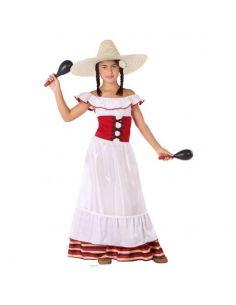 Disfraz Mejicana para niña Tienda de disfraces online - venta disfraces
