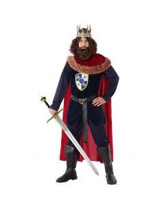 Disfraz Rey Medieval Rojo Hombre Tienda de disfraces online - venta disfraces