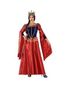 Disfraz Reina Medieval Rojo mujer Tienda de disfraces online - venta disfraces