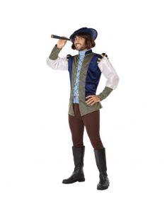Disfraz Medieval Azul hombre Tienda de disfraces online - venta disfraces