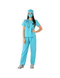 Disfraz de Cirujana verde adulto Tienda de disfraces online - venta disfraces
