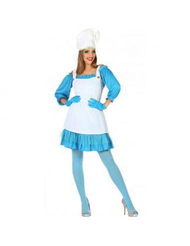 Disfraz Enanita azul mujer Tienda de disfraces online - venta disfraces