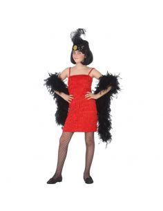 Disfraz Charleston Rojo niña Tienda de disfraces online - venta disfraces