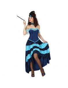 Disfraz Cabaret Azul mujer Tienda de disfraces online - venta disfraces