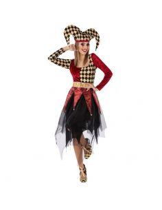Disfraz Arlequín Rojo mujer Tienda de disfraces online - venta disfraces