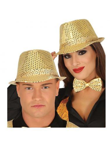 Gorro Lentejuelas Oro Tienda de disfraces online - venta disfraces