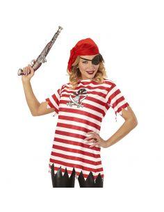 Camiseta Pirata Adulto Tienda de disfraces online - venta disfraces