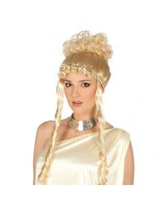 Peluca Griega rubia Tienda de disfraces online - venta disfraces