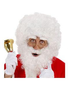 Peluca y Barba con Tirabuzones Papa Noel Tienda de disfraces online - venta disfraces